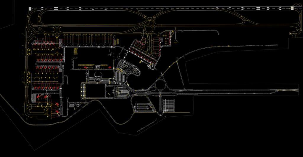 Mapeamento Aéreo com Drone. Aeroporto de Viracopos